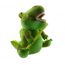 Игрушка мягкая с зубами Revyline Крокодил